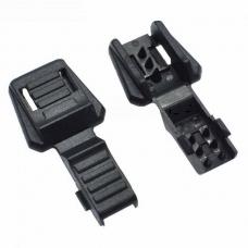 Законцовка для шнура 18*18-9мм черная