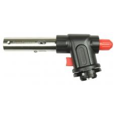 Горелка газовая пьезо с цанговым захватом, широкое сопло, 15.3x4x8cm, G-18