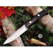 Нож BARK RIVER AURORA BLACK CANVAS MICARTA черная микарта