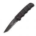 Нож BOKER 01AKS74BT AKS-74 BLACK TANTO AUTO