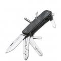 Нож BOKER 01BO824 TECH TOOL CARBON-5 складной, многопредметный, рукоять-карбон, сталь 12C27
