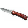 Нож BUCK VANTAGE складной, сталь-420HC, рукоять-стабилизированное розовое дерево