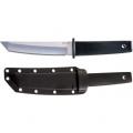 Нож COLD STEEL KOBUN  фиксированный, cталь-AUS 8A, рукоять резная,ножны-пластик CS/17TR