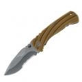 Нож FOX BF-116 складной cталь-440С, твердость-56-57, титан, рукоять-G10