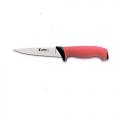 Нож кухонный  JERO разделочный 14см красная рукоять