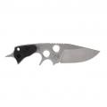 Нож POHL FORCE фиксированный, белый клин, сталь D2, кайдекс PF2026