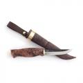 Нож AHTI VAARA фиксированный, сталь- W-75, рукоять- дерево 9608
