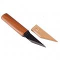 Нож YOSHIHARU ремесленный, высокоуглеродистая сталь, деревянная рукоять