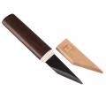 Нож YOSHIHARU ремесленный, 2-х слойная высокоуглеродистая сталь, деревянная рукоять