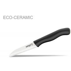 Нож для овощей SAMURA ECO 75mm, циркониевая керамика.