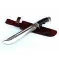 Нож кузнеца Семина ЦЕЗАРЬ кованый, стальХ12МФ, литье, венге