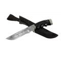 Нож кузнеца Семина ГАЛЕОН сталь-дамаск, литье, резная рукоять из ценных пород