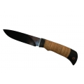 Нож кузнеца Семина МУРЕНА кованный, сталь- Х12МФ, рукоять-береста