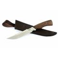 Нож кузнеца Семина ОСЕТР кованный, сталь- 95Х18, венге, литье