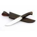 Нож кузнеца Семина ПАНТЕРА сталь- D2, дюраль, черное дерево