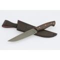 Нож кузнеца Семина ПАНТЕРА кованый, стХВ-5, литье,ценные породы дерева
