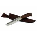 Нож кузнеца Семина ПУТНИК кованый ст95Х18, венге, литье со следами ковки