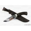 Нож кузнеца Семина СКИФ кованый, со следами ковки, сталь-95Х18, венге, литье