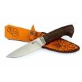 Нож кузнеца Семина СОКОЛ кованый, со следами ковки, сталь-95Х18, венге, литье