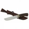 Нож кузнеца Семина ВАРЯГ кованый сталь 95Х18 венге, литье