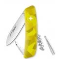 Нож SWIZA C01, велор, желтый