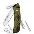 Нож SWIZA C03, силва, хаки