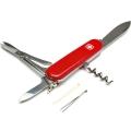 Нож WENGER CLASSIK 02 красный (скл. 9 функций, 85mm)