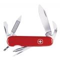 Нож WENGER CLASSIK 11 (красный, скл. 13 функций, 85mm)