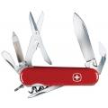Нож WENGER CLASSIK 14 (красный, скл. 13 функций, 85mm)