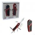 НАБОР WENGER Зажигалка HYDOR+Нож 85mm красный