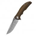 Нож ZERO TOLERANCE K0609 складной, сталь титан, сталь CPM-20CV, клинок сатин