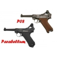 Пистолет пневматический GLETCHER P08 4.5mm