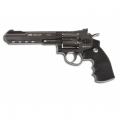 Пистолет пневматический GLETCHER SW R6 4.5mm (черный)