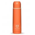 Термос  АРКТИКА 1000мл 102-1000 пластиковое напыление (цвет оранжевый)