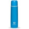 Термос 1000мл 102-1000 пластиковое напыление (цвет синий)