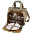 Набор для пикника АРКТИКА (сумка-холодильник и посуда)  4100-4