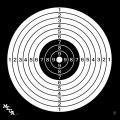 Мишень №4 Remington 50*50 спортивная