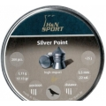 Пули  H&N SILVER POINT 5.5mm, 17,13 гран  (200шт)