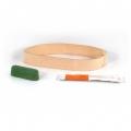 Ремень DAREX сменный с двумя видами полировочной пасты для электроточилки Work Sharp Knife & Tool Sharpener Ken Onion Edition с насадкой Grinder Attachment (кожа)