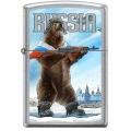 ЗАЖИГАЛКА ZIPPO 207 Russian Bear