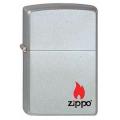ЗАЖИГАЛКА ZIPPO 205 с логотипом ZIPPO