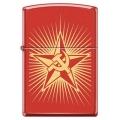 ЗАЖИГАЛКА ZIPPO 233 RUSSIAN HAMMER SICLE