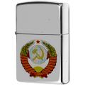 ЗАЖИГАЛКА ZIPPO 250 ГЕРБ СССР
